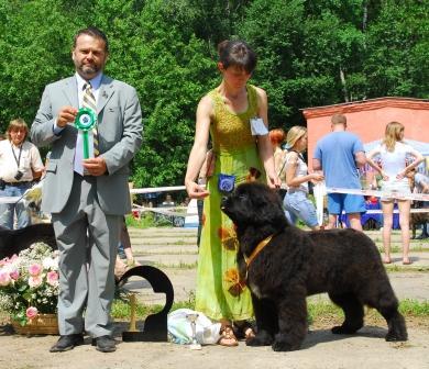 28 июня 2009 года Кинологический Клуб  «Дельта -  Пал» провел Монопородную выставку ранга КЧК. Эксперт: Attila Soos  из Венгрии.